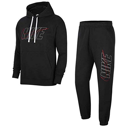 Nike Sportswear Club Tuta Nera da Uomo CU4323-010