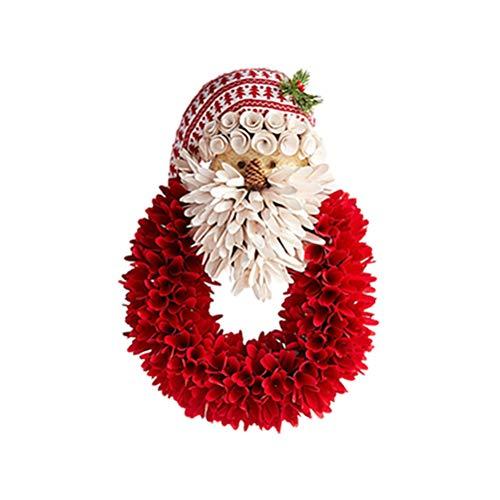 3D Navidad ventana se aferra Santa Claus Pegatinas Adornos Pegatinas para Home Office Invierno Wonderland Holiday Decoraciones