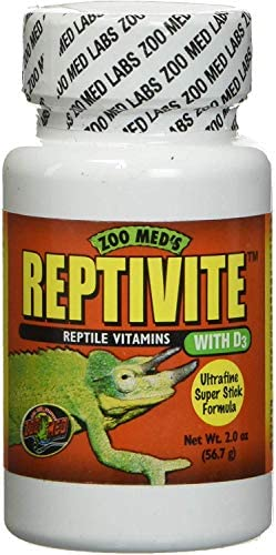 Zoo Med Reptivite Reptile Vitamins with D3 2 oz Pack of 6 product image