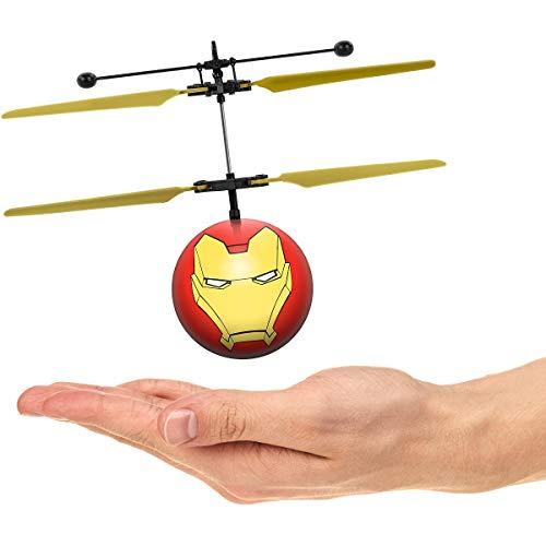 Marvel Avengers Iron Man IR UFO Ball Helicopter