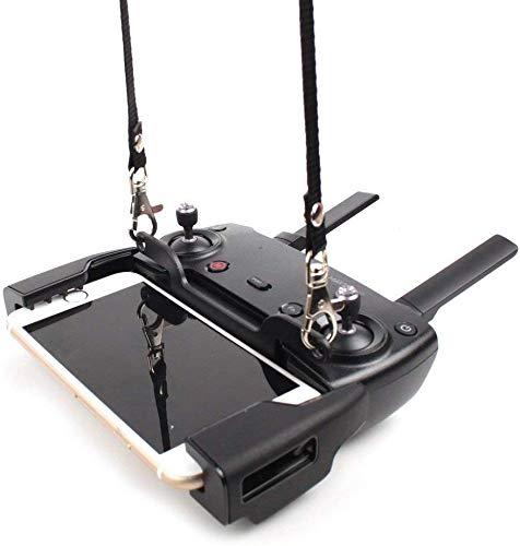 Linghuang Doppelschnalle Fernbedienungs Halter mit Umhängeband für DJI Mavic Mini / Mavic 2 / Mavic Air / Mavic Pro / Spark Drohnen Zubehör