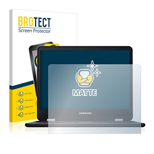 BROTECT 2X Entspiegelungs-Schutzfolie kompatibel mit Samsung Chromebook Pro Bildschirmschutz-Folie Matt, Anti-Reflex, Anti-Fingerprint