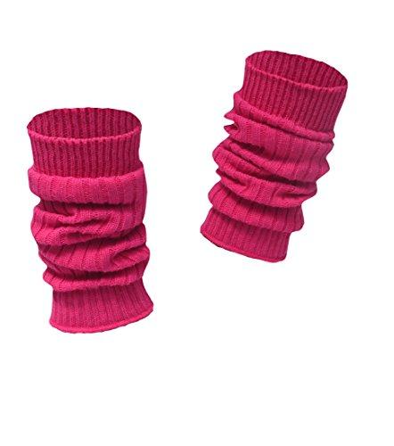 socken-und-mehr Kinderstulpen in vielen Farben pink