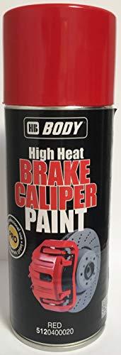 HB BODY Spray ANTICALÓRICO Rojo Brake Caliper. Pinzas de Freno
