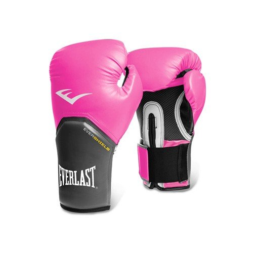 Everlast Pro Style Elite Gloves Guante Entrenamiento Boxeo, Adultos Unisex, Rosa, 12OZ