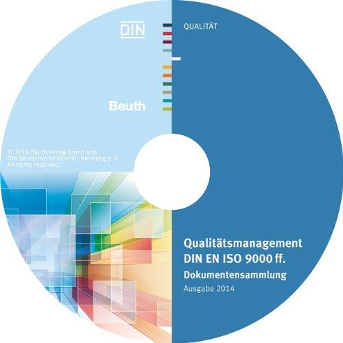Qualitätsmanagement DIN EN ISO 9000 ff., CD-ROM Dokumentensammlung. Hrsg.: DIN e.V.