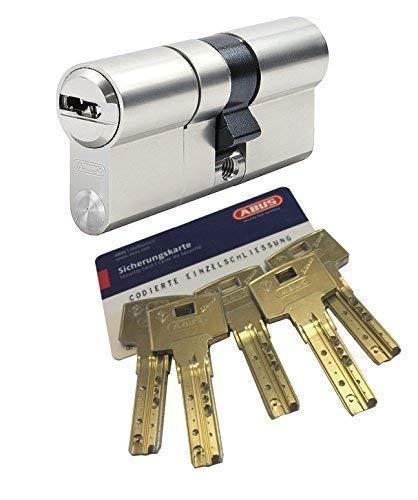Preisvergleich Produktbild ABUS Bravus.3000 MX Doppelzylinder mit Sicherungskarte und 5 Schlüssel,  Länge (a / b) 50 / 55mm (c=105mm),  modulare Bauweise MX erhöhter Bohr.- Zieh- u. Abreißschutz,  mit Not-u. Gefahrenfunktion