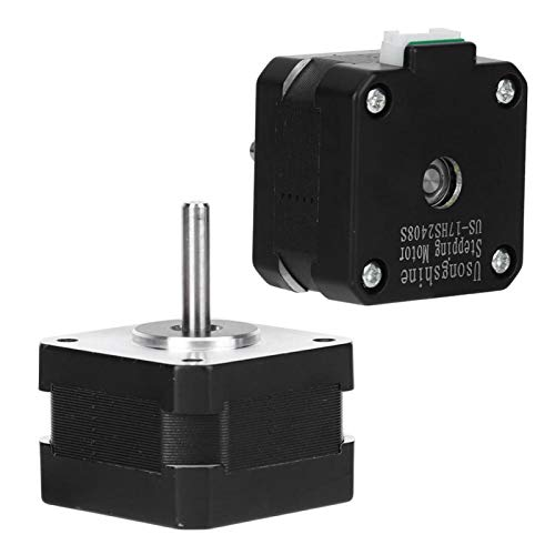 SALUTUYA 17HS2408S Stepper Motor 4 Pin Cable NEMA 17 Stepper Motor Power Tool Accessories Electric Motor for Belt Machines for Polishing Machine