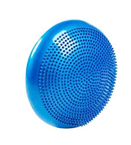 YALINA Cuscino per L'equilibrio, Stabilità da 33 Cm E Piastra di Allenamento per L'equilibrio, Cuscino d'Aria per L'oscillazione 33cm Blu