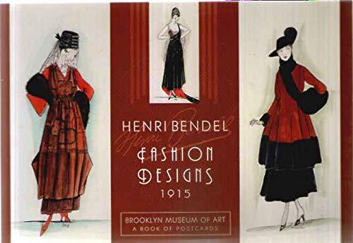 Henri Bendel Fashion Designs 1915 - A Book of Postcards