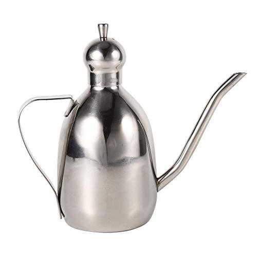 1pc 0.35L en acier inoxydable distributeur d'huile vinaigre distributeur pot utilisation de la cuisine à la maison Hots