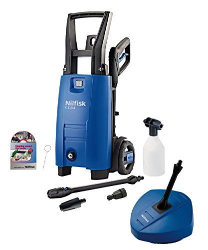 Nilfisk C110 4-5 PC Xtra Compact High Pressure Washer with Patio Cleaner