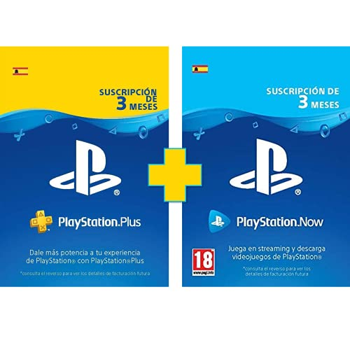 Prime Day Offer: PlayStation Plus - 3 Month Subscription + PlayStation Now - 3 Month Subscription |  PS5 / PS4 / PS3 |  PSN Download Code - Spanish Account