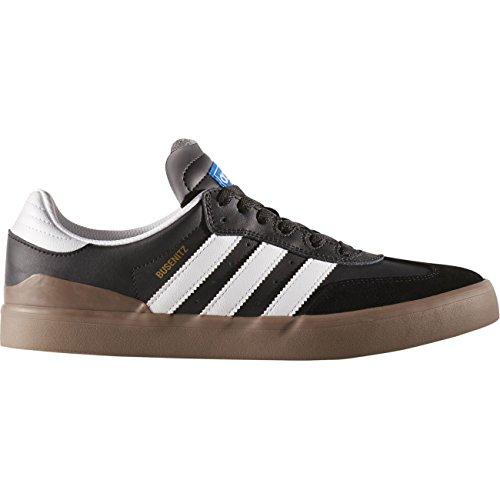 adidas Busenitz Vulc RX, Zapatillas de Skateboarding para Hombre, Negro (Negbas/Ftwbla/Gum5), 36 EU