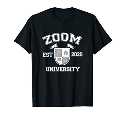 Zooming University 2020 Distance Learning Virtual Teacher T-Shirt