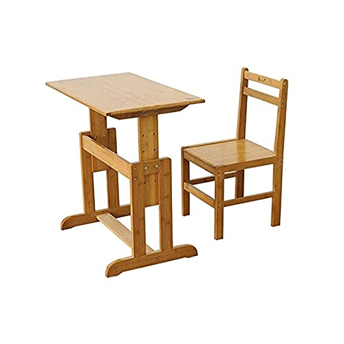 BDESIGN Kids Desk y Silla Sett Setting Workstation Mobiliario para Leer, escribiendo Escritor de Estudiante ergonómico Escritorio para estudiar ZDWN