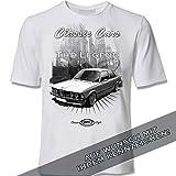 youtex E21, E 21 M3, Youngtimer Black&White T-Shirt (XL)