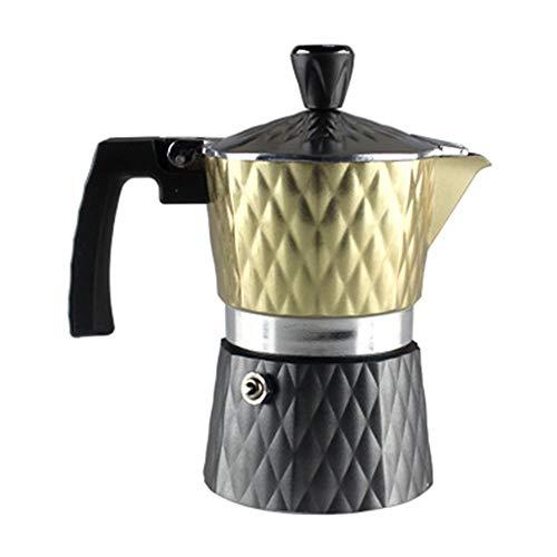 Great Price! Moka Coffee Maker Mocha Pot Classic Aluminum Coffee Pot Household Home Use Mocha Coffee...