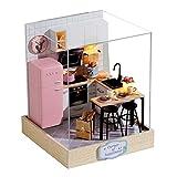 Dollhouse - Kit de casa de muñecas, bricolaje en miniatura