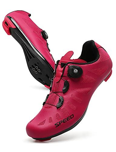 JINKUNL Women Cycling Shoes Men Peloton Shoes Road Bike Shoes Mountain...