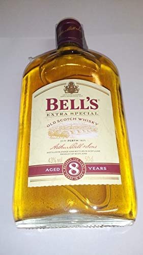 Whisky Bell'S 8 años Petaca Crystal 50cl 43% Alcohol