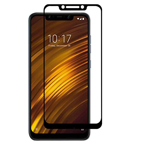TBOC Schutzfolie 5D für Xiaomi Pocophone F1 - Xiaomi Poco F1 [6.18