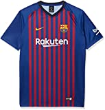 NIKE FC Barcelona Home Camiseta, Infantil, Deep Royal Blue/University Gold, Extra-Small