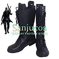 ネロ デビルメイクライ5 Devil May Cry 5 Nero コスプレ 靴 ブーツ コスプレ靴 cosplay オーダーサイズ/スタイル 製作可能 【Sanjucos】(26.5cm)