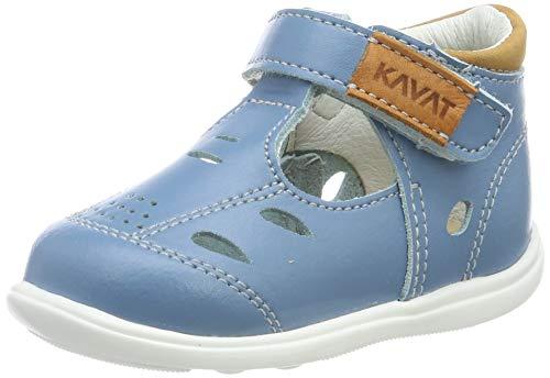Kavat Backe, Sandales Bout fermé Mixte Enfant, Bleu (Blue Heaven 947), 21 EU