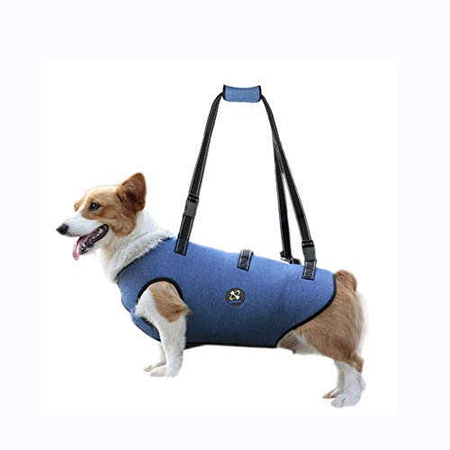 COODEO Dog Lift Harness, Pet Support & Rehabilitation Sling Lift Adjustable Padded Breathable Straps...
