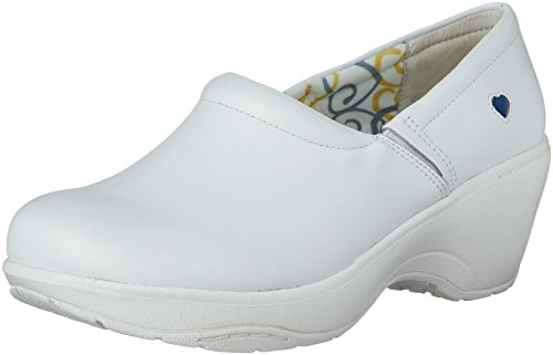 Nurse Mates Women's Bryar, White, 7 B - Medium