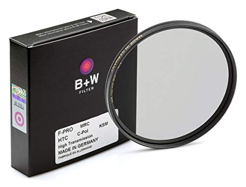 B+W circular Polfilter nach Käsemann 67mm, High Transmission, F-Pro, MRC 67mm