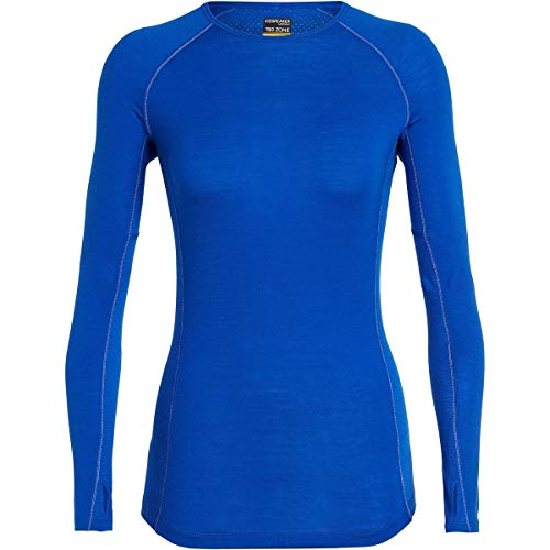 Icebreaker Damen 150 Zone Longsleeve Langarm Unterhemd Funktionsunterhemd