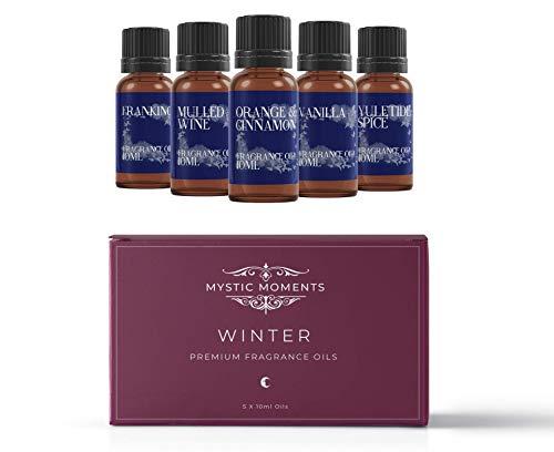 Mystic Moments Olio Alla Fragranza Kit Iniziale - Oli Invernali - 5 x 10ml