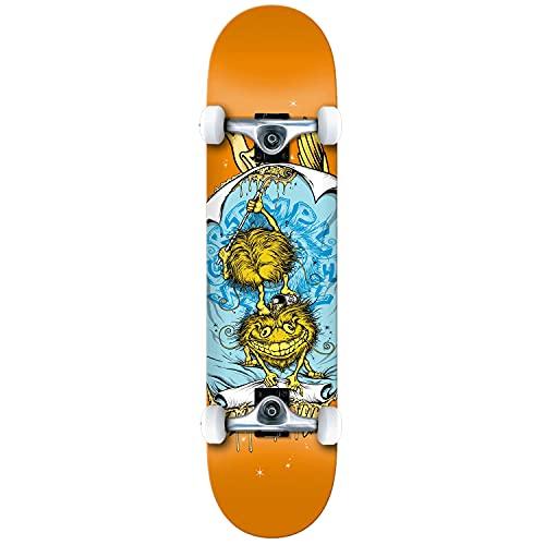 Anti Hero Grimple Glue Medium Factory - Skateboard completo, colore: Arancione