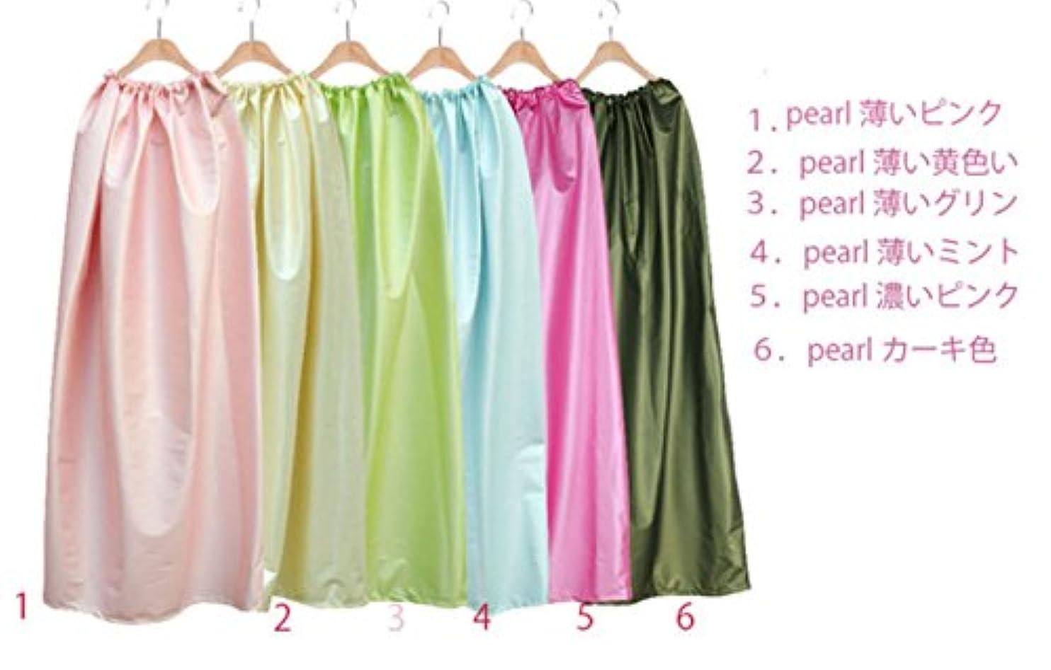 上からかう昼寝ヨモギ蒸し服レザー材質のような厚い (5.pearl濃いピンク)