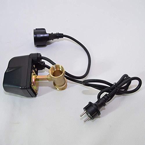 Droogloopbeveiliging SK-13 voor tuinpomp, huiswaterpomp, diepbronpomp 230 V, aansluiting 1 inch voor pompen tot 2000 watt stroomverbruik. Beschermt pompen tegen droogloop en dus tegen schade.