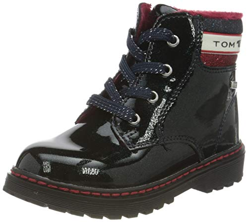 TOM TAILOR Baby-Mädchen 9071501 Halblange Stiefel, Navy, 22 EU