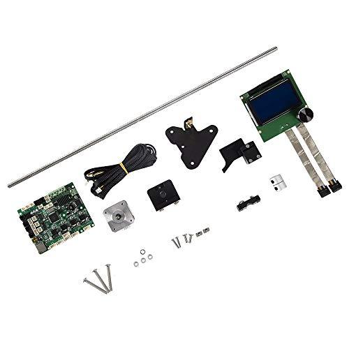 L.W.SURL CREALITY Imprimante 3D Pièces 2 CR-10S Axe Z Mise à Jour 2 Vis-mères Fils de Moteur Surveillance d'alarme de Filament Protection 4.1