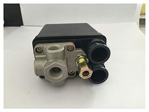 Válvulas CA230V 16A 4 Puertos de control de control de aire compresor de aire interruptor de presión Para el aire de refrigeración.