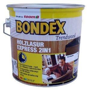 BONDEX Express 2in1 Holzlasur Rio Palisander 4 Liter