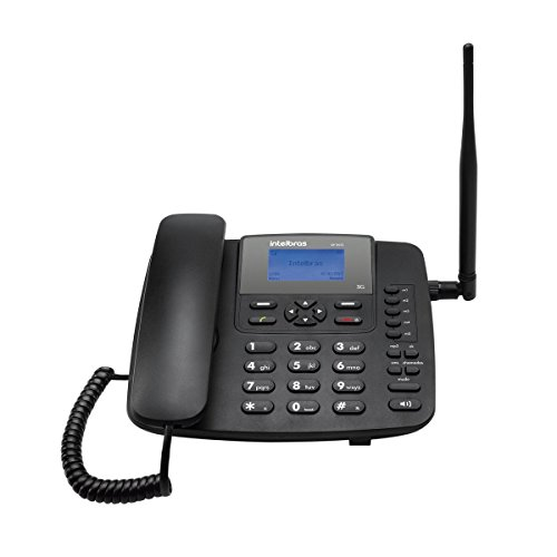 Telefone Celular Fixo Cf6031 3G Função Modem 3G, Intelbras, 3302347, Preto
