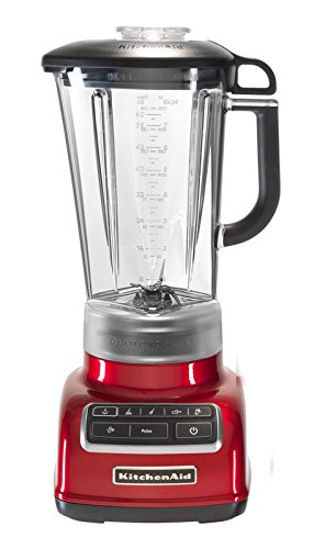 KitchenAid 5KSB1585ECA - Batidora de vaso, color rojo