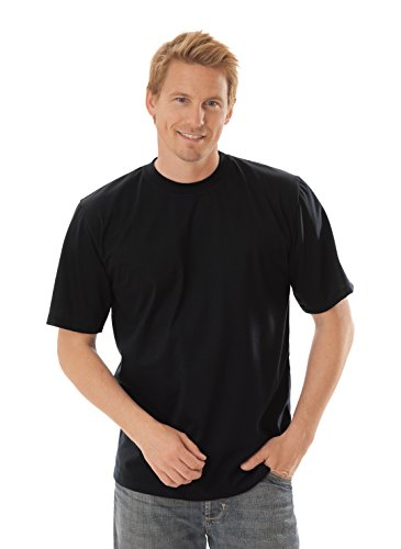 Trigema Herren T-Shirt 636202, XXX-Large, Schwarz (schwarz 008)