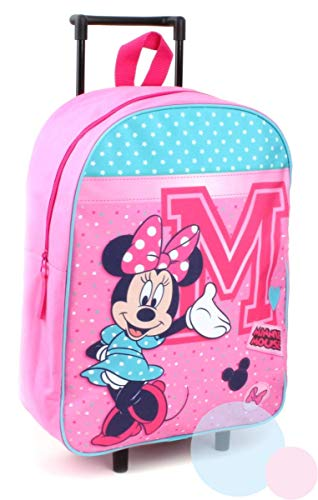 Disney Mickey Mouse Trolley Kinderkoffer - Rosa