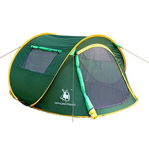 Zhouzl Prodotti da Campeggio Tenda Automatica da Campeggio all'aperto HUILINGYANG 1-2 Persone Tenda ad Apertura Rapida, Dimensioni: 240x180x105cm (Verde) Prodotti da Campeggio (Colore : Green)