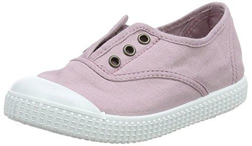 victoria Unisex-Kinder Inglesa Lona Tintada Puntera Sneaker, Violett (Violeta), 32 EU