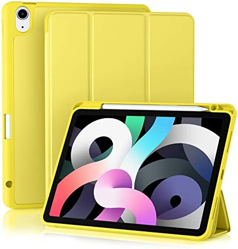 Akkerds Case Compatible for iPad Air 4 2020 10 9 Inch Pencil Holder Auto Sleep Wake Cover Trifold product image