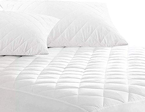 PORTER AND LAMBERT Mattress Protector - Cover Easy Care 4ft Small Double King Diamond Luxury Quilted 30cm Deep Fitted Bedding Protector: Non-Allergenic, Anti Dustmite & Absorbent