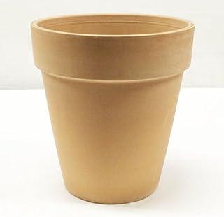 イタリア製 テラコッタ鉢 トールポット ホワイト 30cm 植木鉢